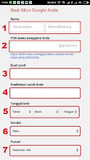 Cara Membuat Email Untuk Daftar Kerja