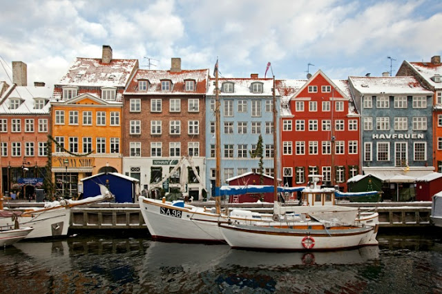 Nyhavn, Copenhagen, Dinamarca