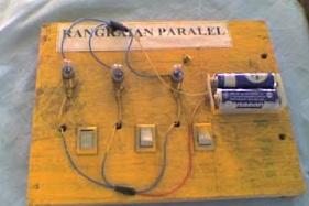 Cara membuat rangkaian seri dan paralel Tehnisikecil.com