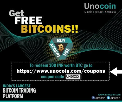 (Maha Loot) Get Free Bitcoin Of Rs 200 and Rs10 Paytm Cash By Unocoin