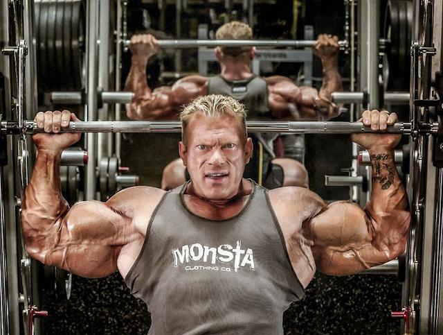 balanced bodybuilding training
