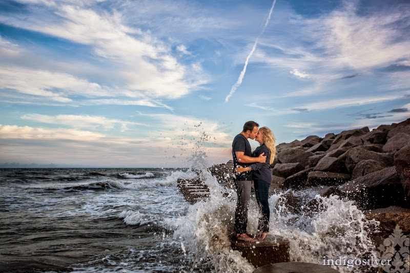 Booking Special: Complimentary Save-the-Date Mini Engagement Session | Wilmington Engagement Pictures | indigosilver
