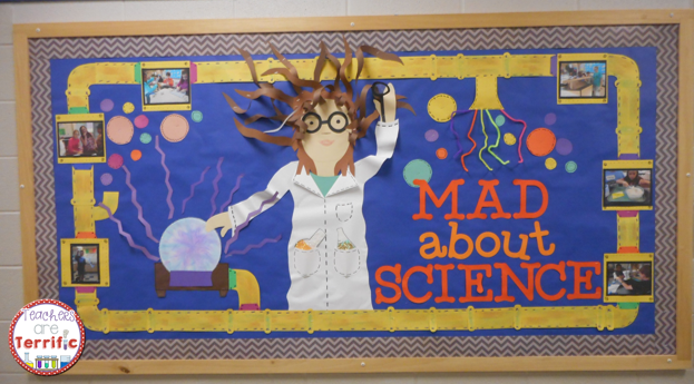 Science Bulletin Board! This post tells a way to re-purpose this amazing board. When I took this board down I saved all the pieces and re-used them in another amazing version. Read to see how!
