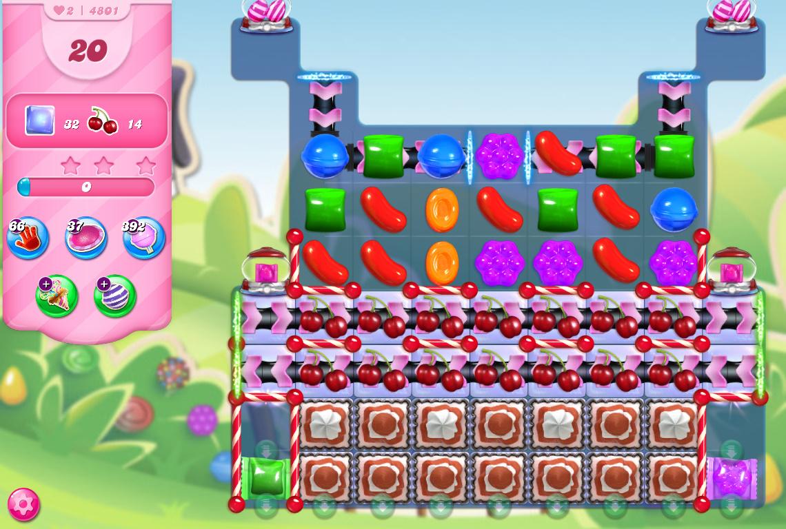 Candy Crush Saga level 4801