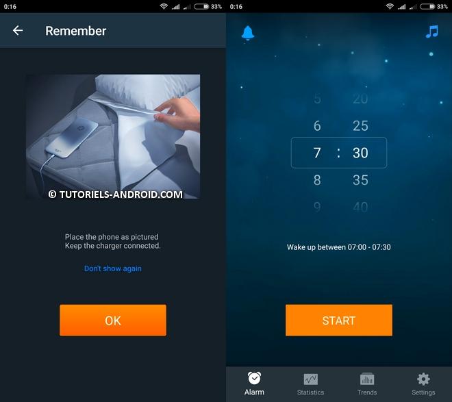 Réveil intélligent - Sleep Cycle Alarm Clock Android