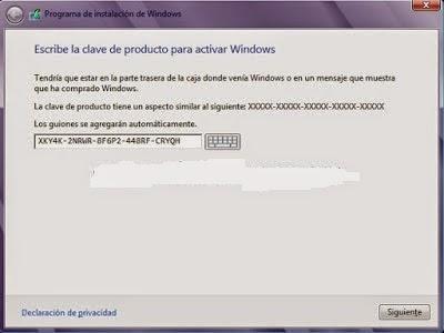 como activar windows 8.1 pro build 9600 sin programas