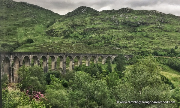 Fort William to Mallaig - over the Glenfinnan Viaduct used in Harry Potter films