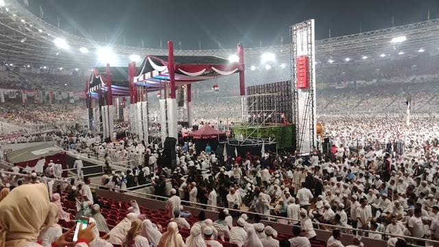 10 Ribu Aparat Amankan Kampanye Akbar Prabowo di GBK