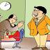 कार्यालयात उशीरा येण्याचे कारण; पत्नीची सेवा करतो !
