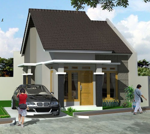model rumah kecil minimalis 2