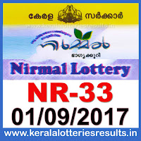 keralalotteries, kerala lottery, keralalotteryresult, kerala lottery result, kerala lottery result live, kerala lottery results, kerala lottery today, kerala lottery result today, kerala lottery results today, today kerala lottery result, kerala lottery result 01.09.2017 nirmal lottery nr 33, nirmal lottery, nirmal lottery today result, nirmal lottery result yesterday, nirmal lottery nr33, nirmal lottery 1.9.2017, 1-9-2017 kerala result