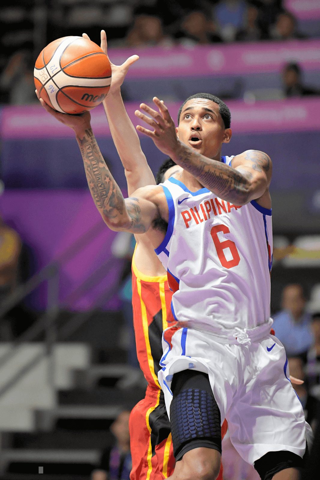 Jordan Clarkson of Philippines in action during Basketball Men's