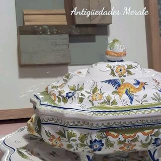 Combiñación perfecta entre antiguedades y arte moderno de Merale