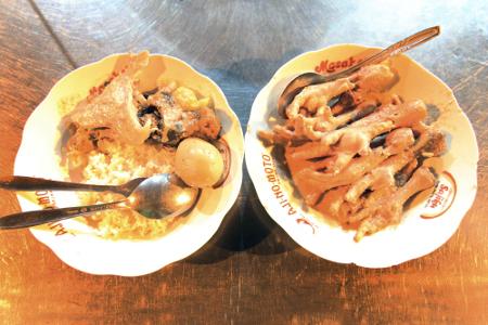 Gudeg Cakar Margoyudan, Makanan Khas Solo Jawa Tengah