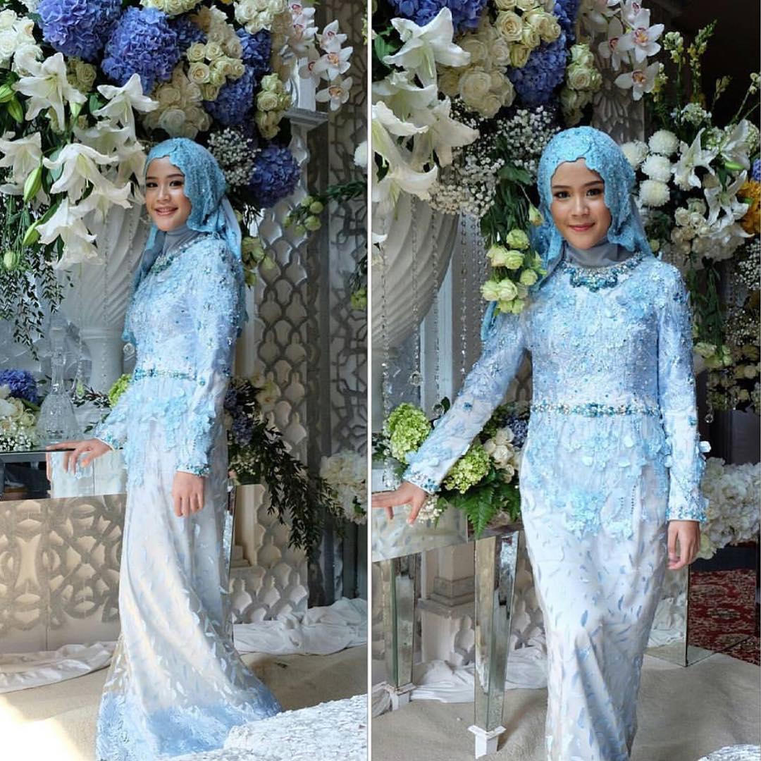Model Hijab Untuk Kebaya Remaja 21 Model Kebaya Muslim Untuk Wisuda Terbaru Remaja Update