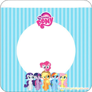 My Little Pony  Free Printable Labels.