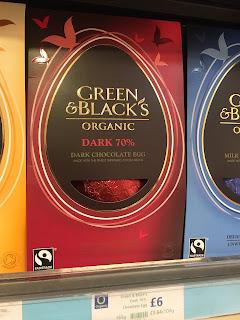 Green & Blacks Organic Dark 70% Easter Egg