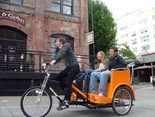 The pedicab
