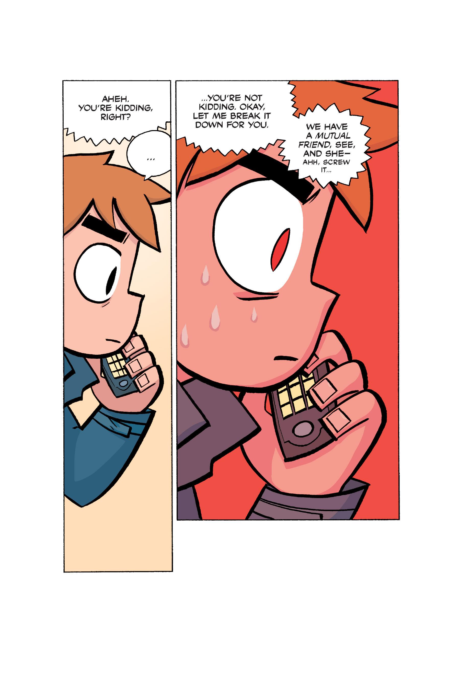 Read online Scott Pilgrim comic -  Issue #5 - 174