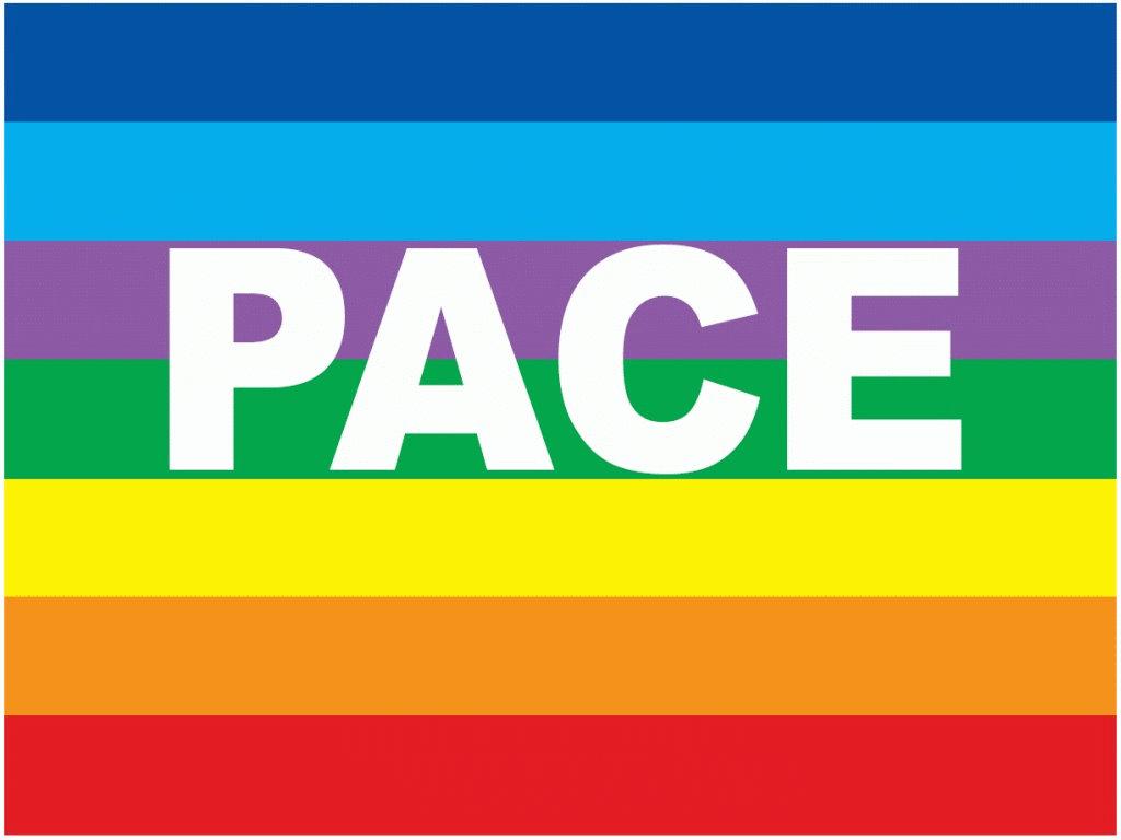 Bandiera Della Pace Da Colorare