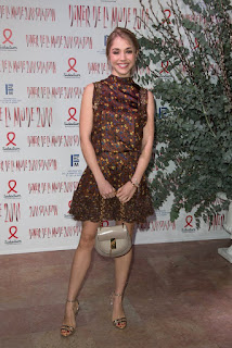 Alice Isaaz At Sidaction Gala Dinner In Paris