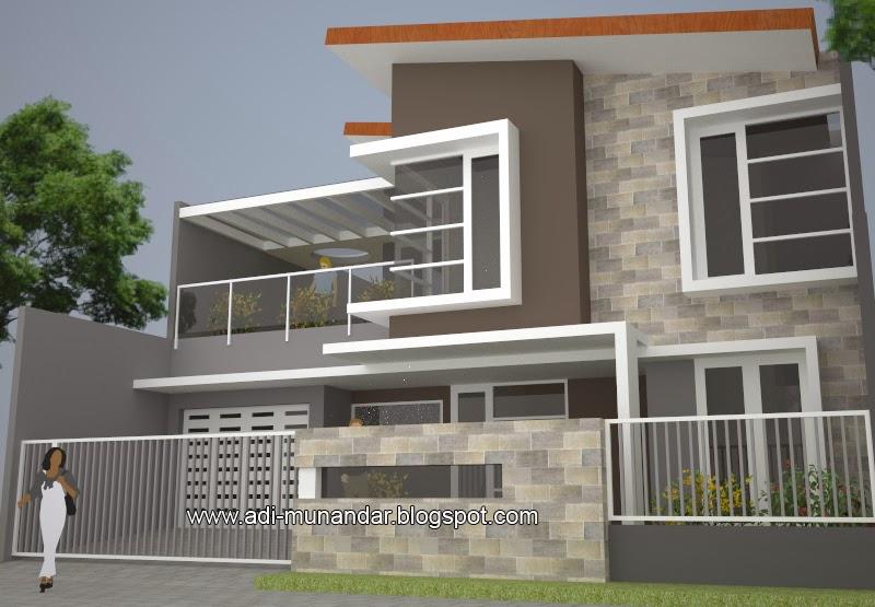 Desain Rumah Di Kemiringan 2017
