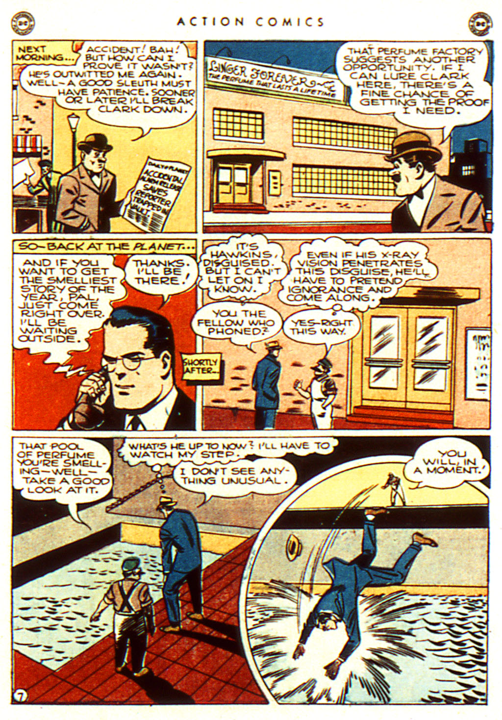 Read online Action Comics (1938) comic -  Issue #100 - 9