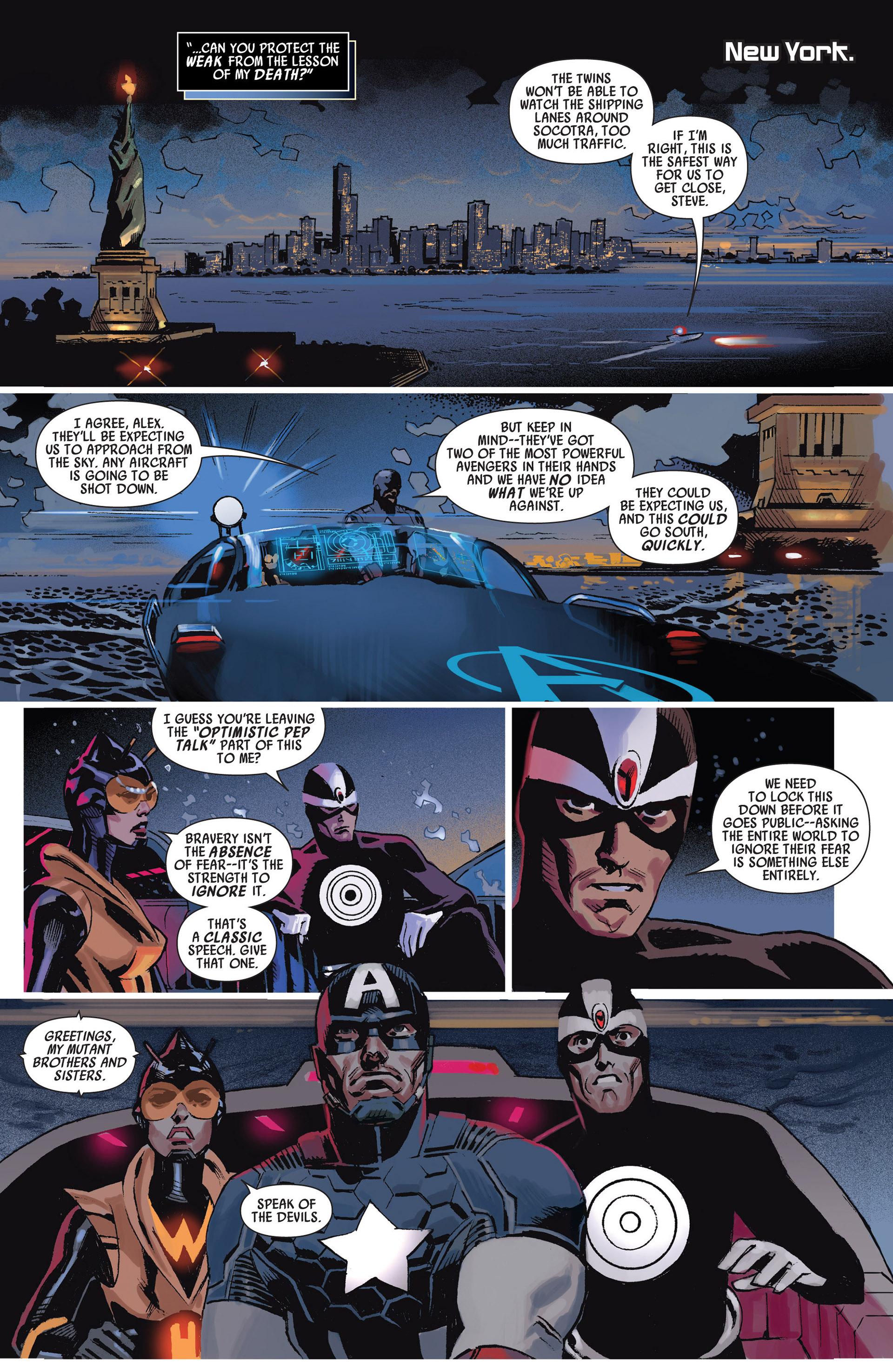 Read online Uncanny Avengers (2012) comic -  Issue #11 - 20