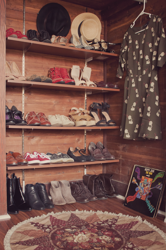f8c499787c5ad2 Having a big walk in closet with a wall covered in shoes is every girl s  dream