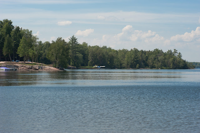 A view showing a small part of an inlet on Head Lake in Laxton Twp, Ontario.