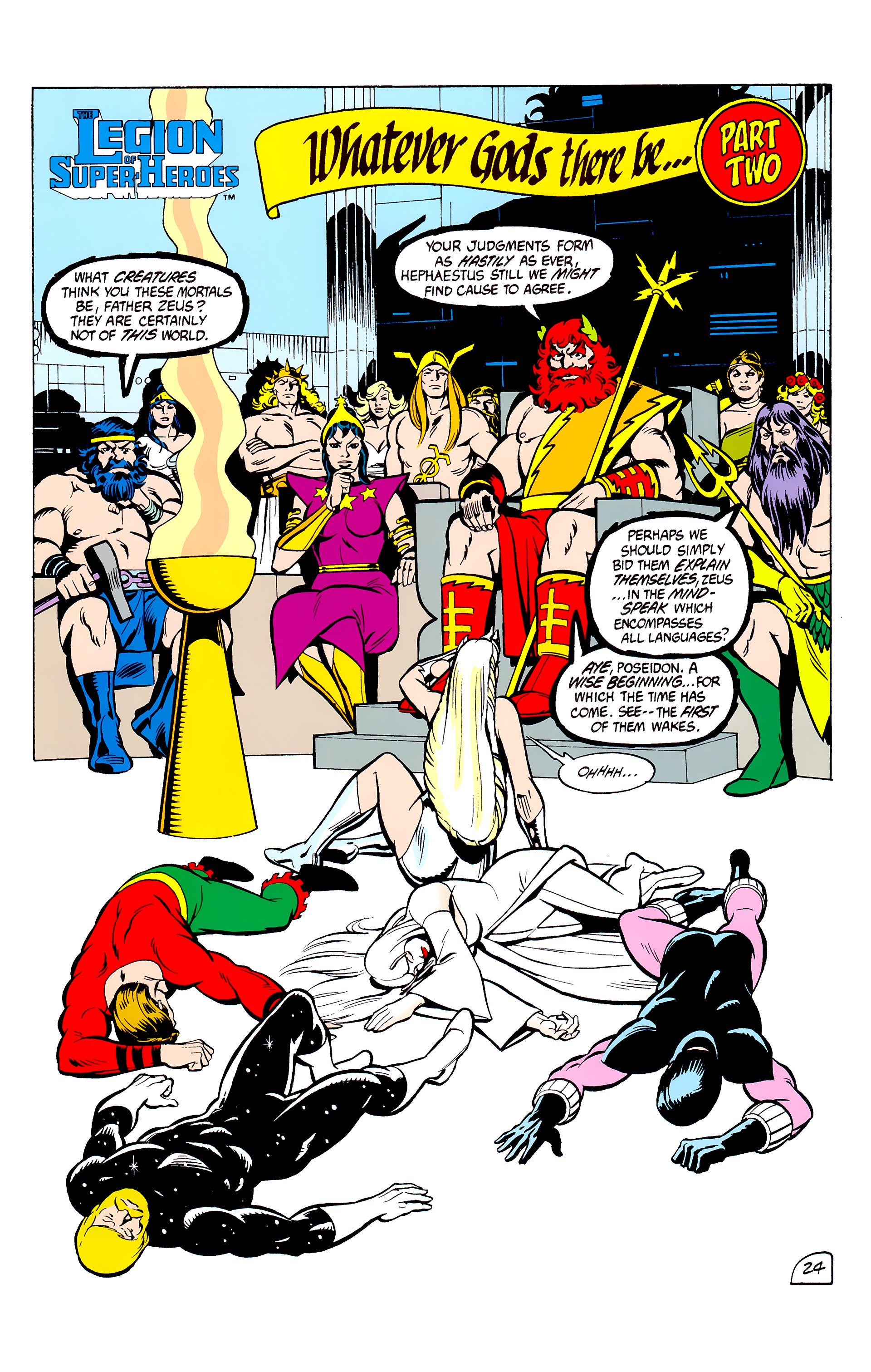 Legion of Super-Heroes (1980) _Annual_2 Page 24