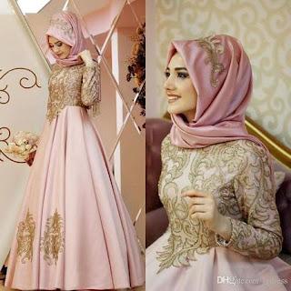 model baju kebaya muslim berjilbab