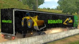 Komatsu Parts trailer mod
