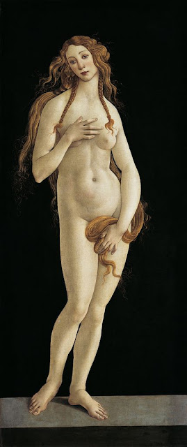 SANDRO BOTTICELLI ( 1445 - 1510) | Venus (Aphrodite).  Berlin, Staatliche Museen, Gemäldegalerie