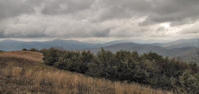 Panorama z Jasła na wschód.