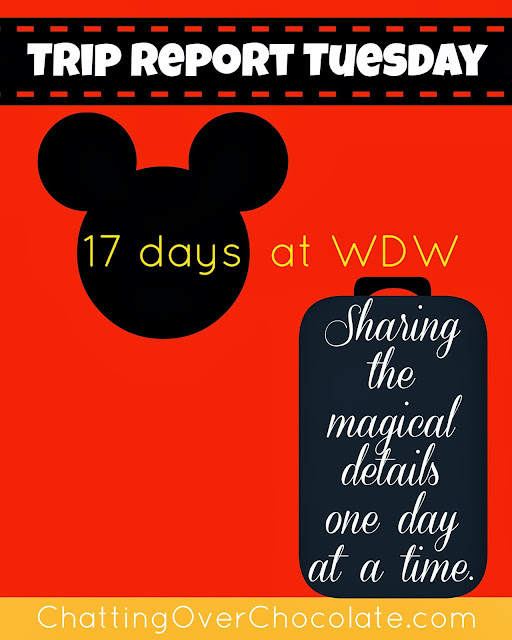 Chatting Over Chocolate Trip Report Tuesday Wdw Day 12
