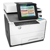 HP PageWide Enterprise Flow Color MFP 586z