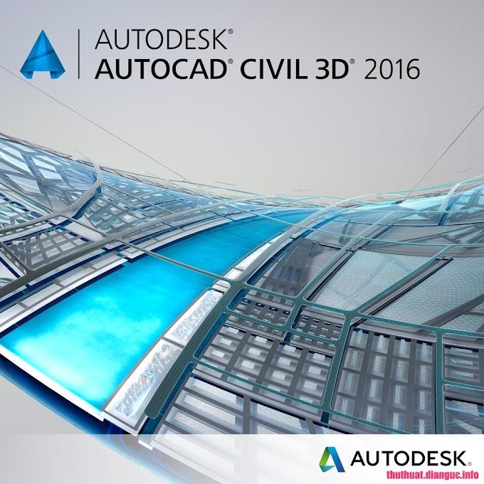 Download AutoCAD Civil 3D 2016 Full Cr@ck