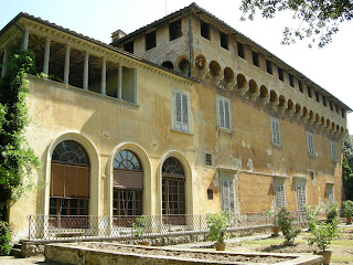 The Villa Medici in Careggi near Florence, where Cosimo died in 1464