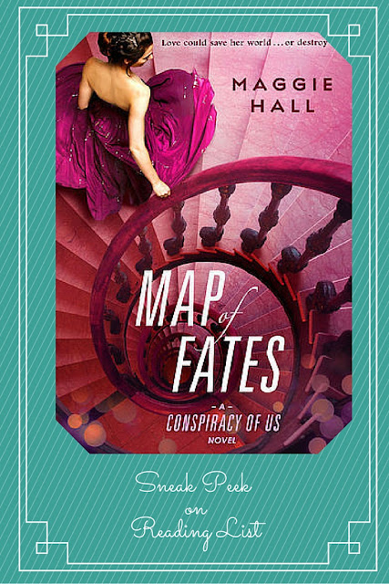 Map of Fates by Maggie Hall a Sneak Peek on Reading List