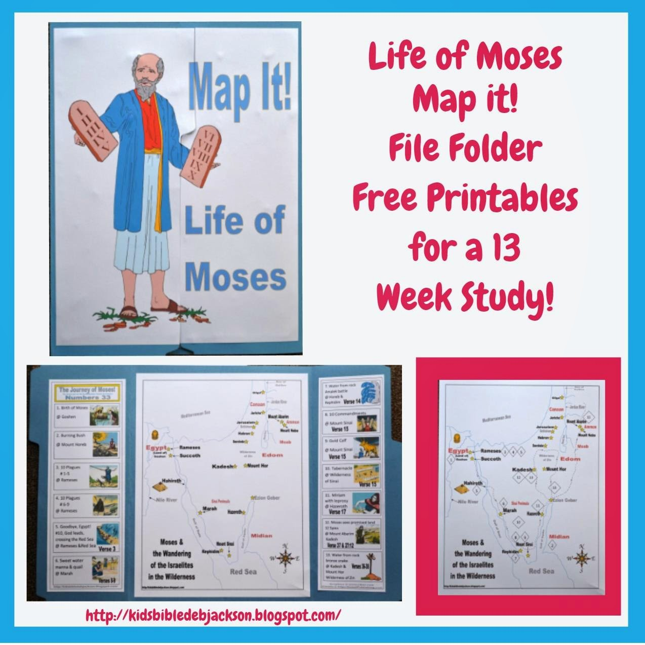 Bible Fun For Kids: Moses Lesson List With Links