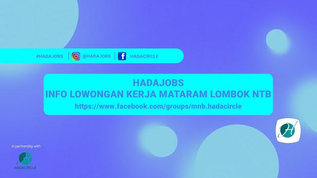 HadaJobs Info Lowongan Kerja Mataram Lombok NTB