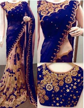 Make A Statement and Look Stunning - Best Saree Style Ideas for Skinny Women! : eAskme