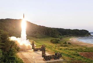 Korea Selatan Uji Tembak Rudal Balistik