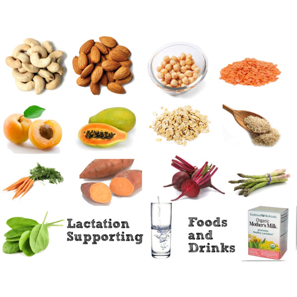 Lactation Supporting foods and drinks