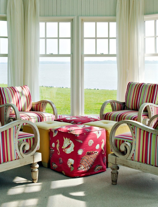 Red Furniture Ideas for Coastal Living