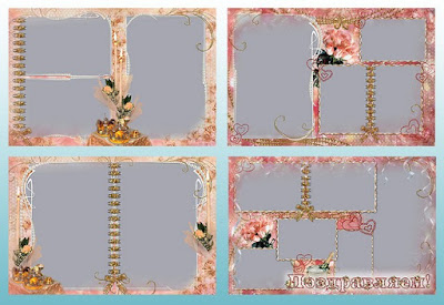 Pearl and Floral Photo Frame