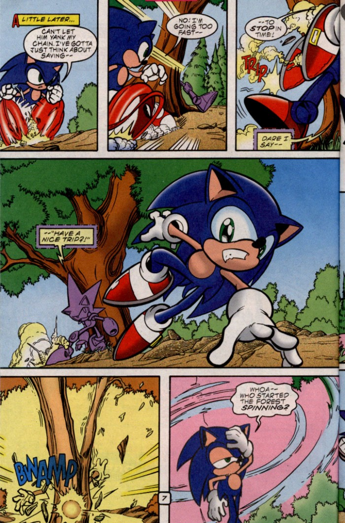 Read online Sonic The Hedgehog comic -  Issue #87 - 7