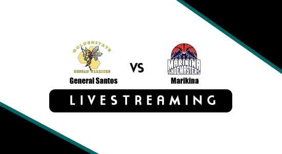 Livestream List: General Santos vs Marikina June 12, 2018 MPBL Anta Datu Cup