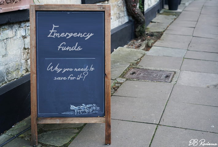 Emergency funds | Why you need to save for it